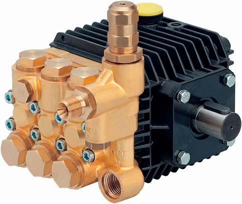 Плунжерные насосы interpump для систем увлажнения 51 серия M версия