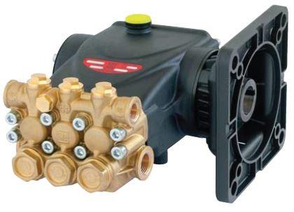 Плунжерные насосы Interpump серия 58 с фланцами ВЕРСИЯ А Для электродвигателей стандарта NEMA 184 ТC